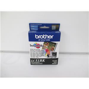 Brother LC51BK Innobella Black Ink Cartridge - SEALED