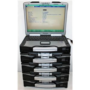 LOT 5x Panasonic Toughbook CF-29 Intel Pentium M 1.5GB 80GB All Power On AS IS