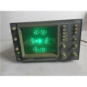 LEADER 5850C NTSC VECTORSCOPE