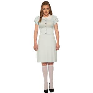 Creepy Twin Women's Shining Ghost Costume Adult Standard