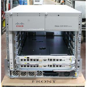 Cisco ASR-9006-AC-V2 Chassis w 2x RSP440 / 2x ASR-9006-FAN / 2x PWR-3KW-AC-V2