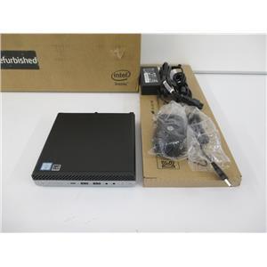 HP 5MQ43UP#ABA EliteDesk 800 G4 Mini Desktop i5-8500T 16GB 256GB NVMe W10P