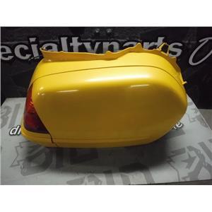 2001 HONDA GOLDWING GL1800 FAIRING PASSENGER SIDE SADDLE BAG (YELLOW) RIGHT