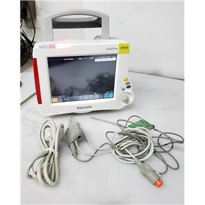 Philips IntelliVue MP30 Touch Screen Patient Monitor w/M3012A