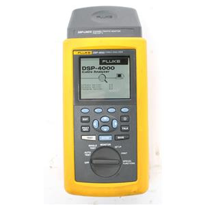 Fluke DSP-4000 Cable Analyzer with DSP-LIA012 Channel Adapter