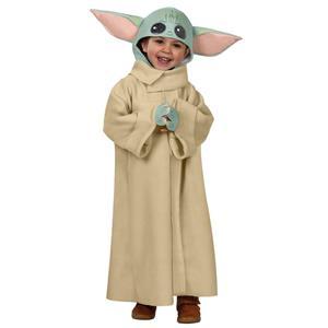Star Wars Mandalorian Baby Yoda Deluxe Costume XS Toddler 2-4