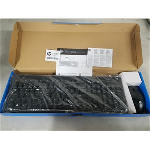 HP C2500 DESKTOP WIRED KEYBOARD AND MOUSE