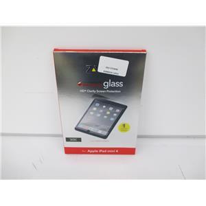 Zagg InvisibleShield IM4GLS-F00 Clear Screen Protector for Apple iPad Mini 4