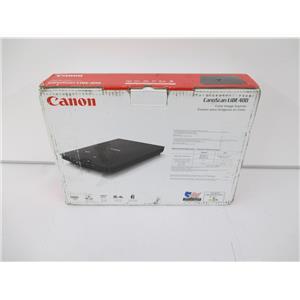 Canon 2996C002 CanoScan LiDE 400 Flatbed Desktop Scanner, Black - NEW, OPEN BOX