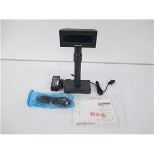 Bixolon BCD-2000AG Customer Pole Display, LCD 20-Characters 2-Lines, Serial