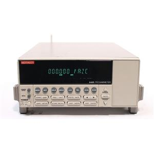 Keithley 6485 Picoammeter / pAmmeter 5-1/2 Digit Resolution