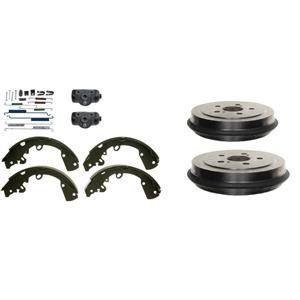 Brake Drum Shoes Wheel Cylinders and Spring Kit Saturn SC SL SE series 1991-2002