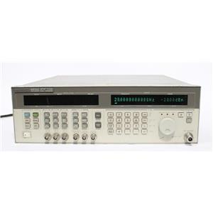 HP 83731A 8GHz-20GHz Synthesized Signal Generator OPT 1E1 1E2 1E5