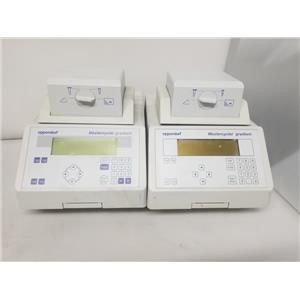 Lot of 2 - Eppendorf 5331 Mastercycler Gradient (As-Is)