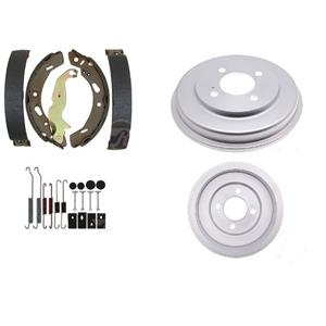 Brake Shoe Drums and Spring Kit Fits Ford Fiesta 2011-2019 REAR