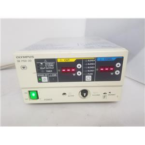 Olympus PSD-20 Electrosurgical Generator w/ MH-551 Footswitch