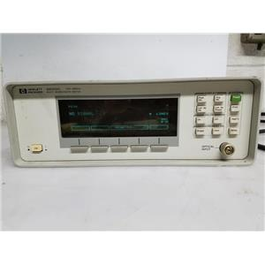 HP 86120C 1270-1650NM MULTI-WAVELENGTH METER