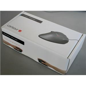 Contour Design WHITE Perfit Mouse Non-Scroll Optical Ergonomic USB PMO5-M-R SZ-M