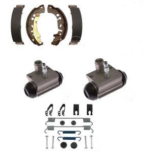 Rear Brake Shoes Wheel Cylinder and spring kit fits Nissan Sentra 2013 - 2019