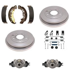 Brake Drums Shoes Wheel cylinder Spring Kit Fits 99-01 Honda Odyssey REAR