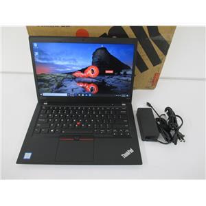 """Lenovo 20NX002XUS ThinkPad T490s 14"""" i7-8665U 8GB 256GB W10P WARRANTY TO 2023!!"""