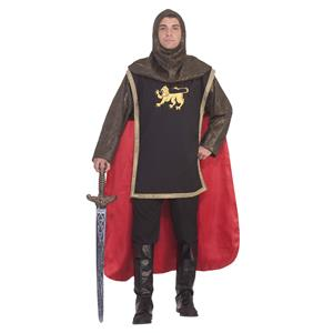 Medieval Knight Royal King Adult Costume Standard