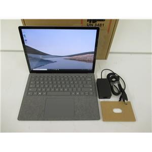 "Microsoft PLA-00001 Surface Laptop 3 -13.5""- Core i7-1065G7 16GB 256GB NVMe W10P"