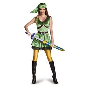 Legend of Zelda Link Female Adult Large 12-14