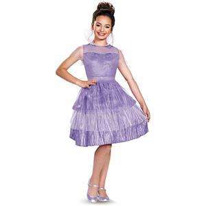 Descendants Mal Coronation Dress Girls Costume Large 10-12