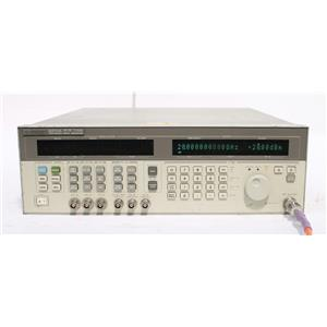 HP 83731A 8GHz-20GHz Synthesized Signal Generator Options 1E1 1E2 1E5 237