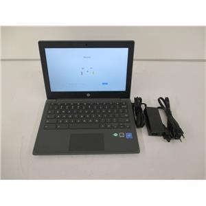 "HP 1A762UT#ABA Chromebook 11 G8 -11.6""- Celeron N4020 4GB 32GB WARRANTY TO 06-21"