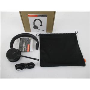 Plantronics 211317-101 Voyager 4210 UC Series Bluetooth Wireless Headset, Black
