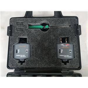 WAVETEK FSDM850 FIBER OPTIC LIGHT SOURCE/ PSDM850 FIBER OPTIC POWER CONVERTER