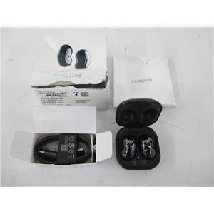Samsung Galaxy Buds Live True Wireless Earbud (Mystic Black) OPEN/UNUSED