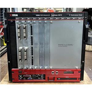 Ixia Optixia XM-12 WIN7 IxOS 6.50.950.4 with 2x Lava AP40/100GE 2P & Licenses