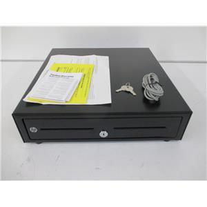 HP QT457AA#ABA Standard Duty Cash Drawer (5 Bills/5 Coins)