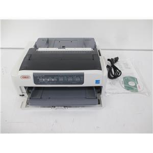 OKIDATA 62433801 MICROLINE 620 288 x 72 dpi 9 pin Dot Matrix Printer -110v