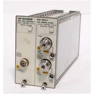 HP Agilent 83485B 30 GHz Optical Channel / 40 GHz Electrical Plug-in Module
