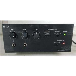 TOA TS-770 CENTRAL CONTROL MIXER UNIT