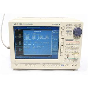 Yokogawa DL750 Scopecorder with 7x 701250 Voltage Input & 1x 701265 Temp Modules