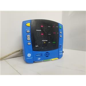 GE Carescape Dinamap V100 Patient Monitor (NO POWER ADAPTER)