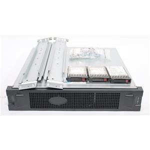 HP HPE MSA 2040 SAN Disk Array w/ 2x 200GB SSD & 22x 1.2TB SAS HDD
