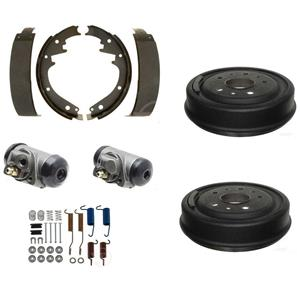 Brake shoe Drums cylinder springs Fit Ford F1 F100 1/2 ton truck REAR 1948-1954