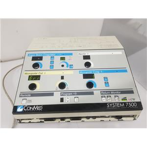 ConMed System 7500 ElectroSurgical Generator 60-7500-120