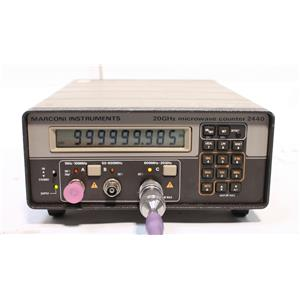 Marconi Instruments 2440 20GHz Microwave Counter