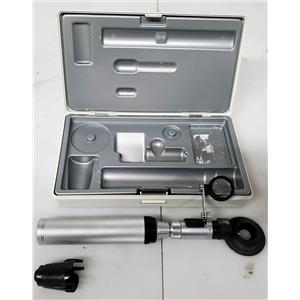 Heine HSL 150 Hand-Held Slit Lamp Set with HSL 10x Loupe attachment in Hard Case