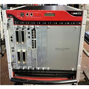 Ixia XG-12 WIN7 IxOS 6.70.1050.7 w LSM XM2S / LSM XMVDC8 / 2x Lava AP40/100GE 2P