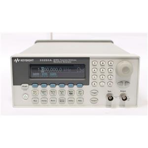 Agilent / Keysight 33250A 80 MHz Function / Arbitrary Waveform Generator