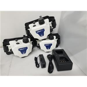 3x Bullard PA30 Respirator Units w/ Bullard PA3SMC Battery Charger