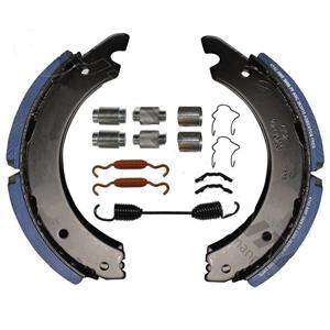 HINO Front Brake shoe and hardware 15 x 4 inch 23K lining Model 258 268 338